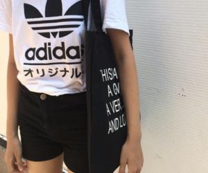 grunge, adidas, and fashion image