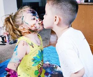 kiss, cute, and kids image