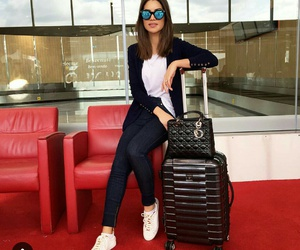 airport, clothes, and look image