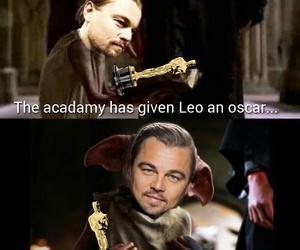 oscar, funny, and Leo image