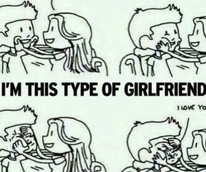 girlfriend, love, and cute image