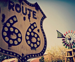 route 66 and usa image