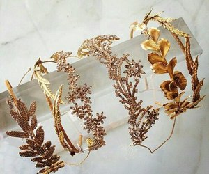 gold, style, and accessories image