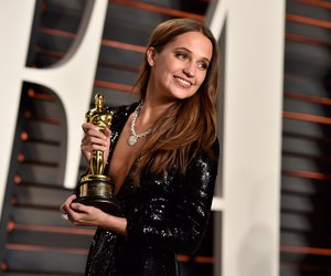 Academy Awards, oscar, and alicia vikander image