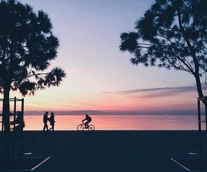 bike, color, and Greece image