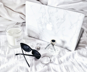 white and apple image