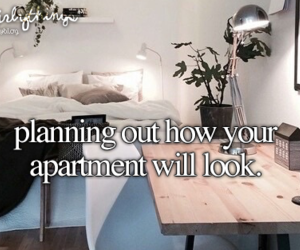 home, just girly things, and apartment image