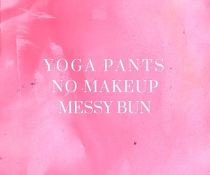 quotes, pink, and yoga image