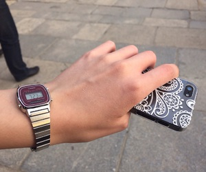 beauty, hand, and hour image