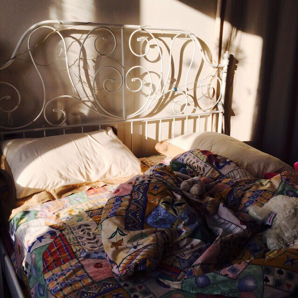 bed, cool, and room image