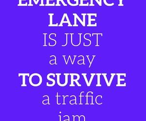 emergency, funny, and lane image