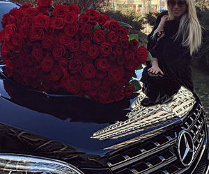luxury, roses, and beauty image