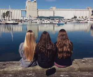 hair, quebec, and friends image