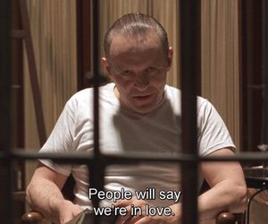 anthony hopkins, hannibal lecter, and silence of the lambs image