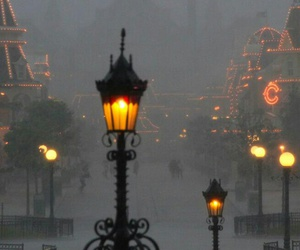 beauty, fog, and disneyworld image