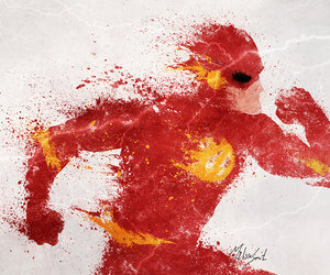 flash, dc comics, and the flash image