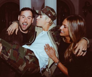 justin bieber, scooter braun, and 22 image