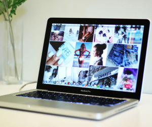fashion, macbook, and love image