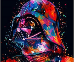 star wars, darth vader, and art image