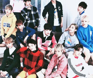 kpop and Seventeen image