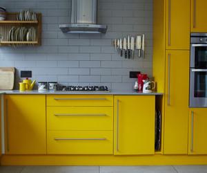bright, interior design, and kitchen image