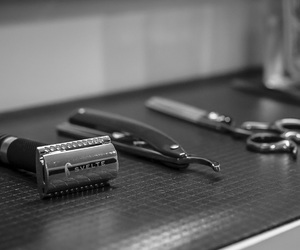 barbershop, hair care, and mens fashion image