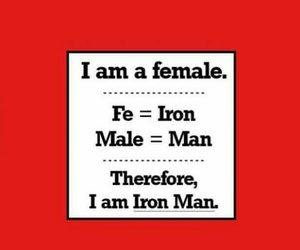 female, iron, and quote image