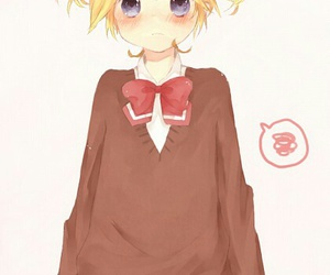 crossdressing, vocaloid, and kagamine len image