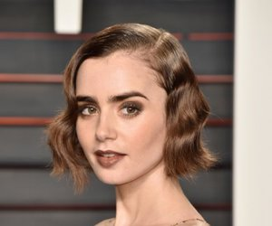 lily collins, beautiful, and actress image