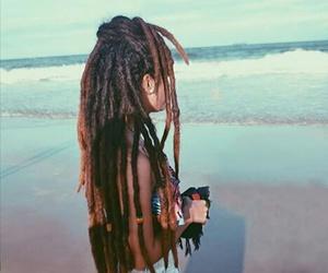 hippie, ocean, and rasta image