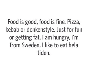 food, sweden, and swedish image
