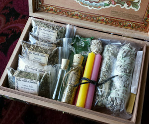 etsy, smudging, and witchcraft image