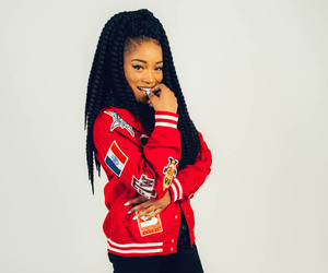 keke palmer, beautiful, and braids image