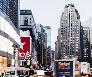 cab, manhattan, and newyork image