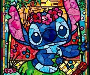 stitch, disney, and art image