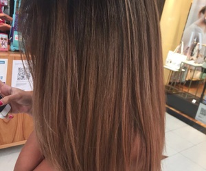 blond, brown, and hair image