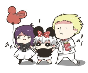jason, rize, and tokyo ghoul image
