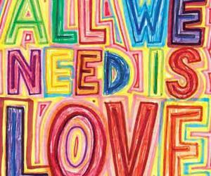 colors and love image
