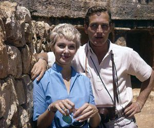 actors, couple, and Joanne Woodward image