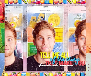 5 seconds of summer and luke hemmings image