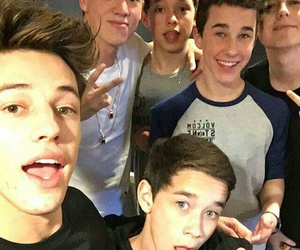 cameron dallas, taylor caniff, and magcon boys image