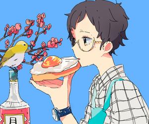art, anime, and anime boy image