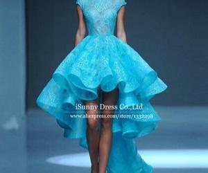 blue dress pretty image