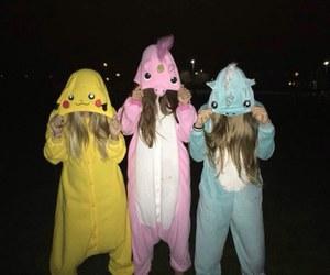 friends, unicorn, and bff image