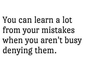 quote, mistakes, and learn image