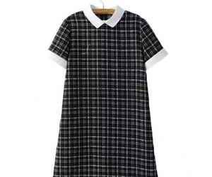 dress, straight, and mini image