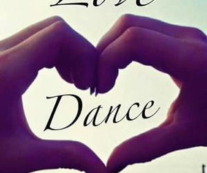 dance, love, and dancing image