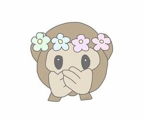 emoji, monkey, and overlay image