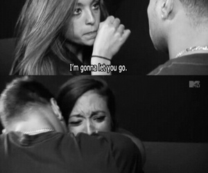 jersey shore, quotes, and sad image