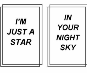 quotes, stars, and sky image